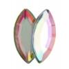 Acrylic 15x7mm Navette Crystal Aurora Borealis